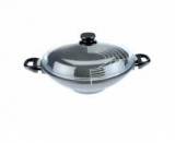 pánev  wok 32 cm 2 ucha SKK Diamond 3000 plus non-stick