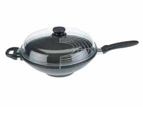 pánev  wok 32 cm SKK Diamond 3000 plus non-stick
